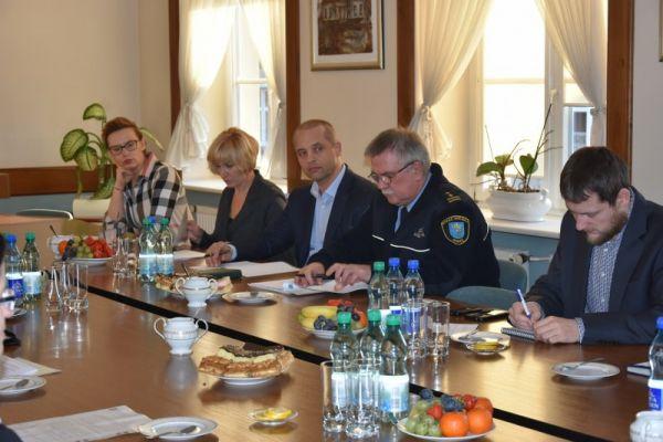 Zimowe spotkanie Gminnego Zespołu Zarządzania Kryzysowego