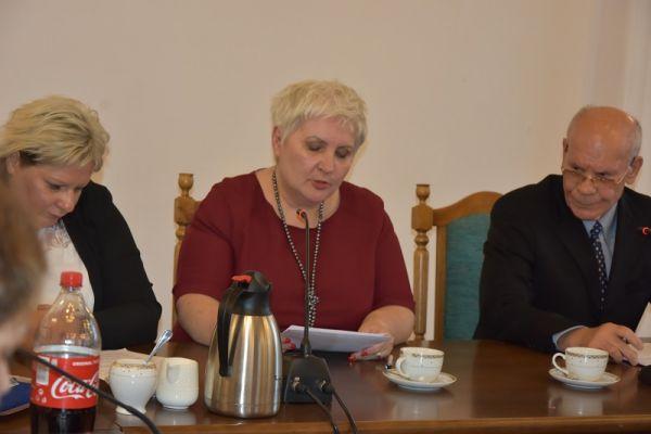 widoczni radni Terefenko i Mikłaszewicz