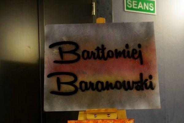 Wystawa prac Bartłomieja Baranowskiego Przedsny