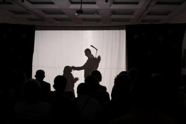 Jasełka, Teatr cieni, przedstawienie histori Bożego Narodzenia