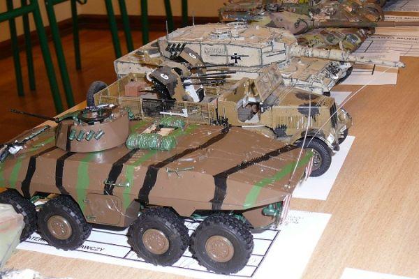 Modele plastikowe, pojazdy gąsienicowe