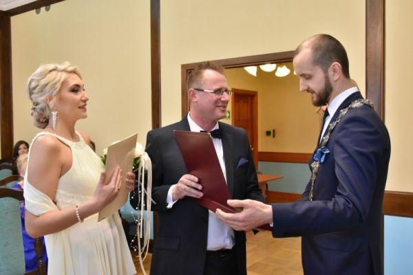 Ślub Iwony Foltyńskiej i Piotra Klekota