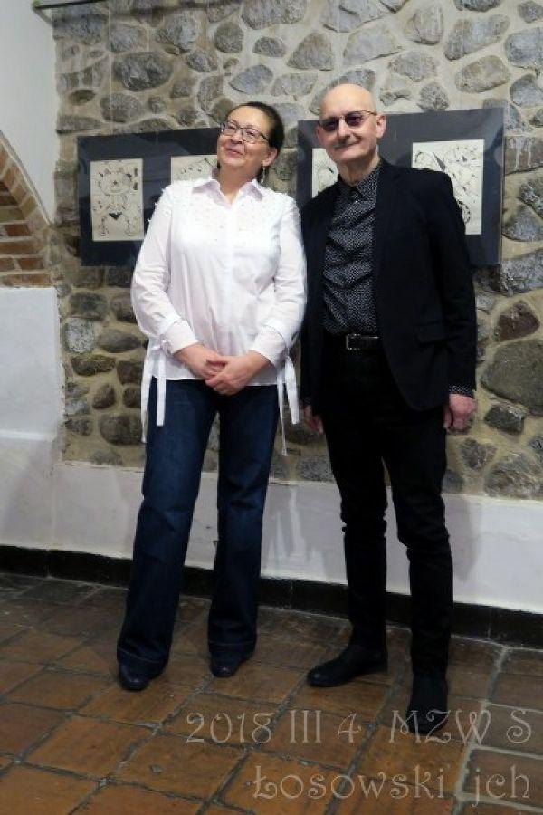 Rysunki Sławomira Łosowskiego - prezentacja autora