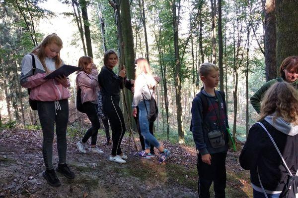 wyprawa leśna